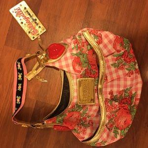 Perfect Betsy Johnson strawberry shortcake purse